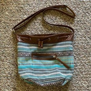 Aeropostale Bohemian Crossbody Purse